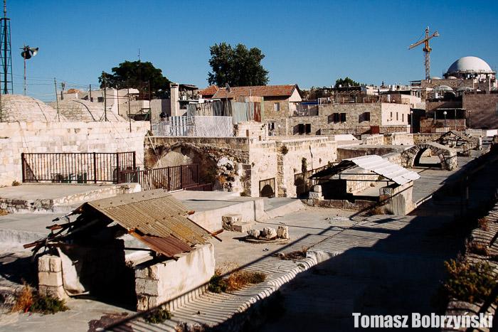Dachy w Jerozolimie